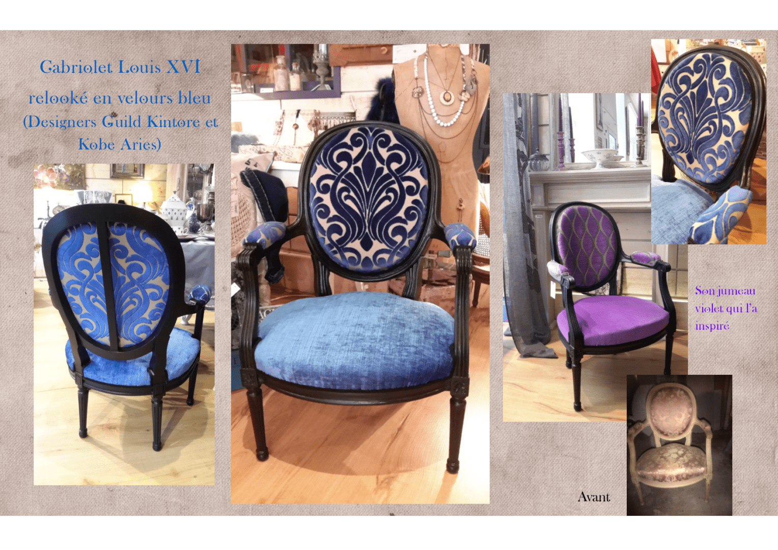 Relooking de meubles l 39 exquise trouvaille for Relooker meubles anciens