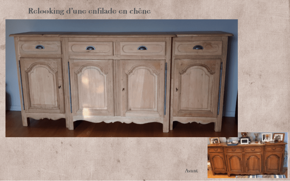 Relooking-enfilade-chene-lexquisetrouvaille