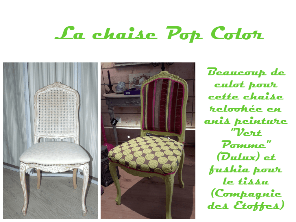 Relooker-meuble-ancien-chaise-anis