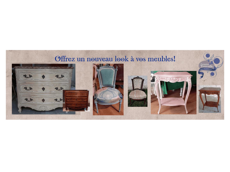 Offrez un nouveau look à vos meubles!