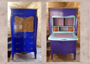 Relooking-secretaire-lexquisetrouvaille